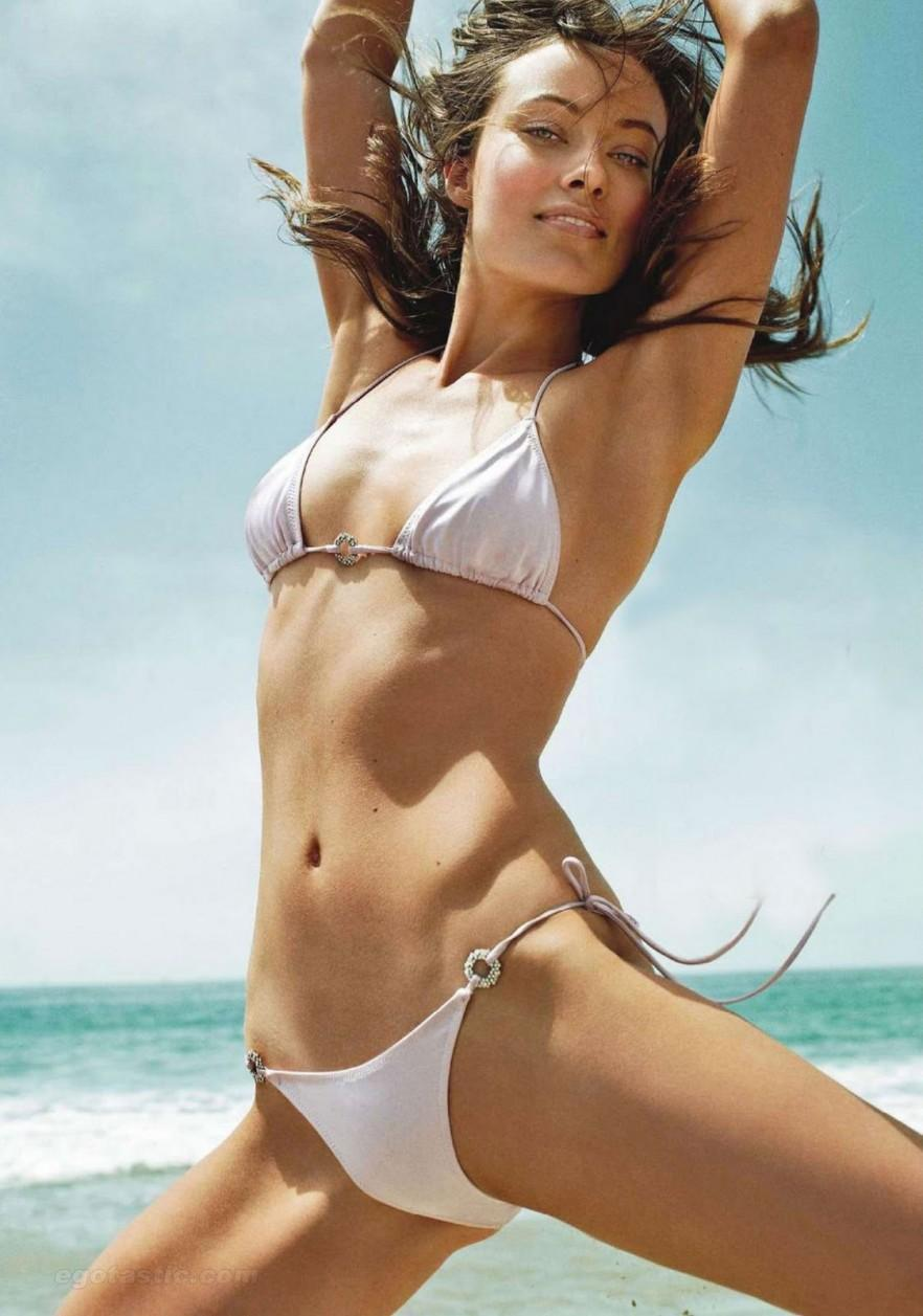 Olivia Wilde See Through Bikini Bikini
